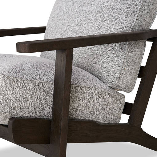 Fauteuil Powell -Soho gris