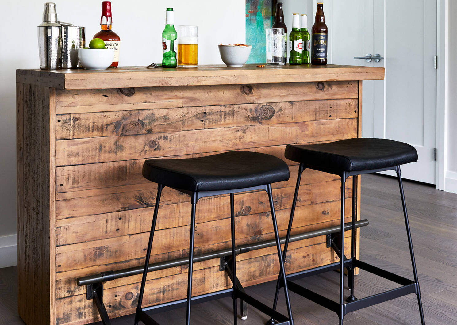 Stapleton Counter Bar -Whiskey Brown