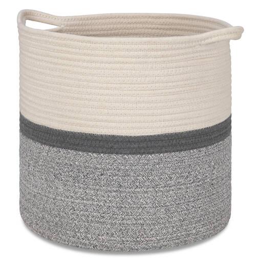 Allie Baskets -Natural/Grey