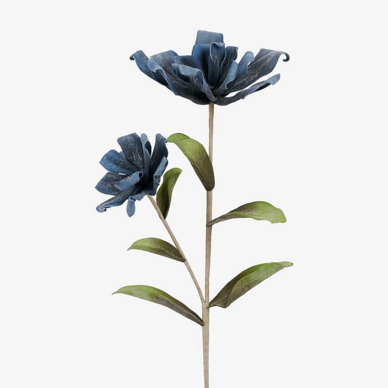 Kinga Flower Stem Jet Blue
