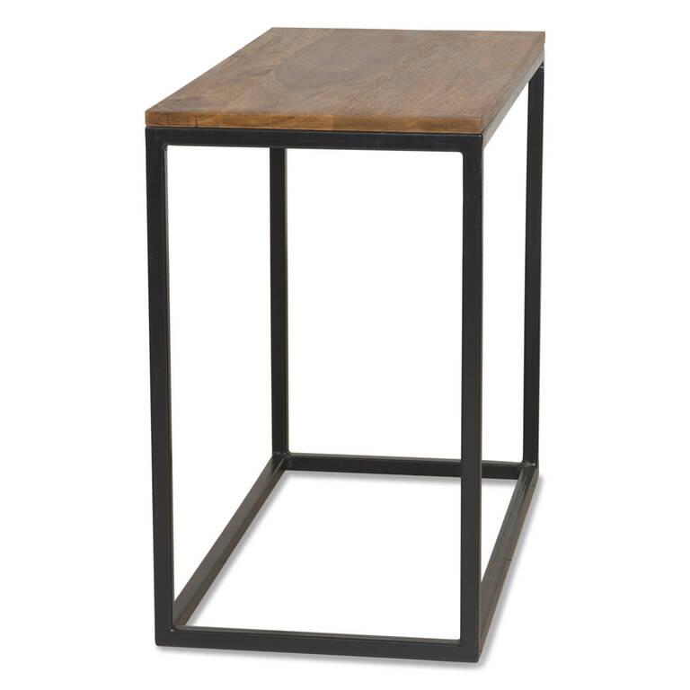 Crosby Narrow Side Table -Sheesham