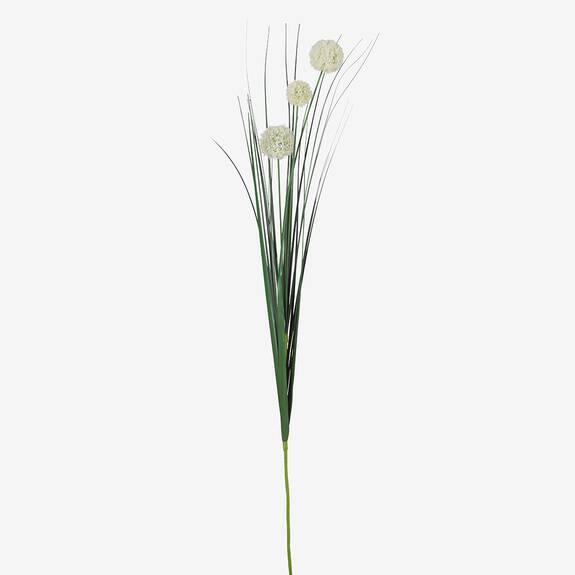 Bouquet d'alliums Heche ivoire