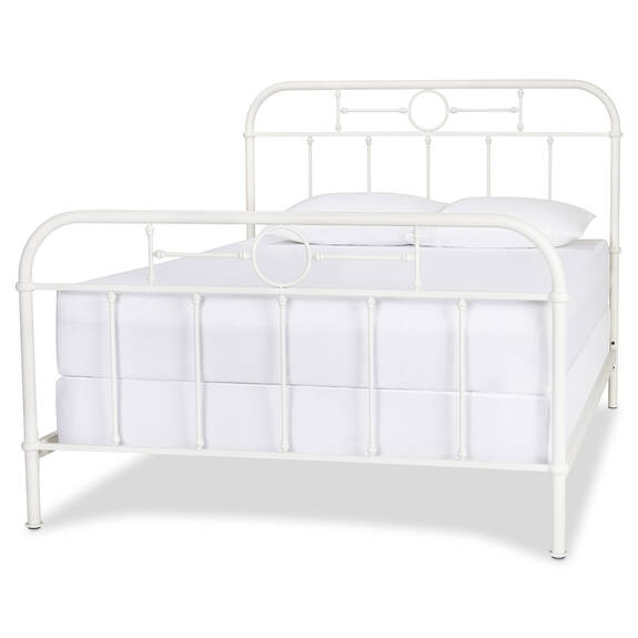 Izadore Bed -White