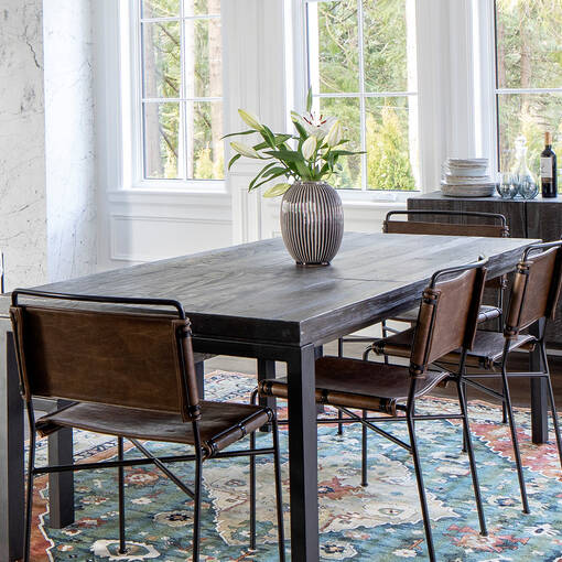 Fallon Ext Dining Table- Ethan Smoke