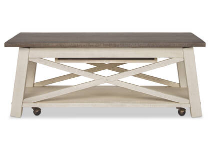 Sechelt Lift Coffee Table -Cove Drift