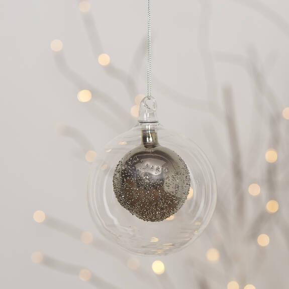 Suzy Ball Orn Silver