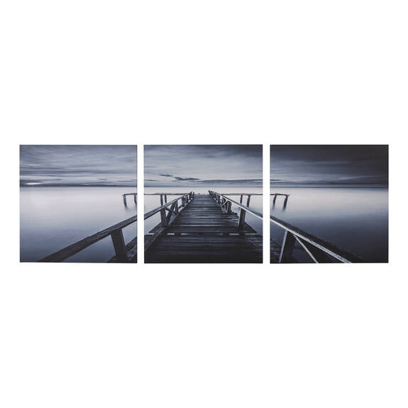 Dock at Dusk Wall Art