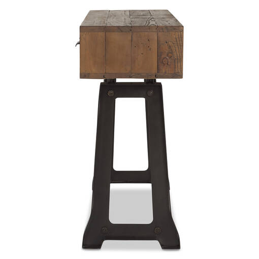 Table console Stapleton -Whiskey brun
