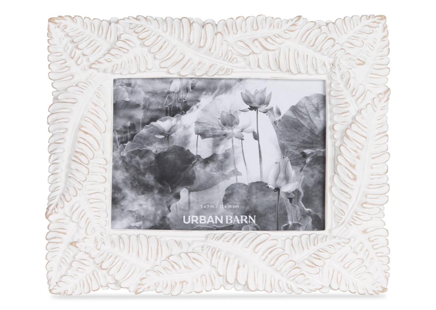 Crisanta Frames -Antique White