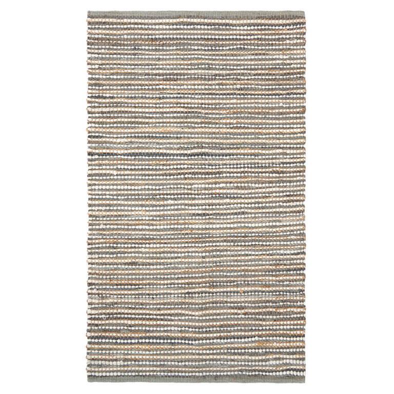 Tapis décoratif Rey 36x60 gris poudreux