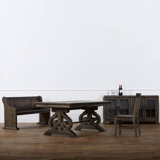 Chaise Churchill -caroube
