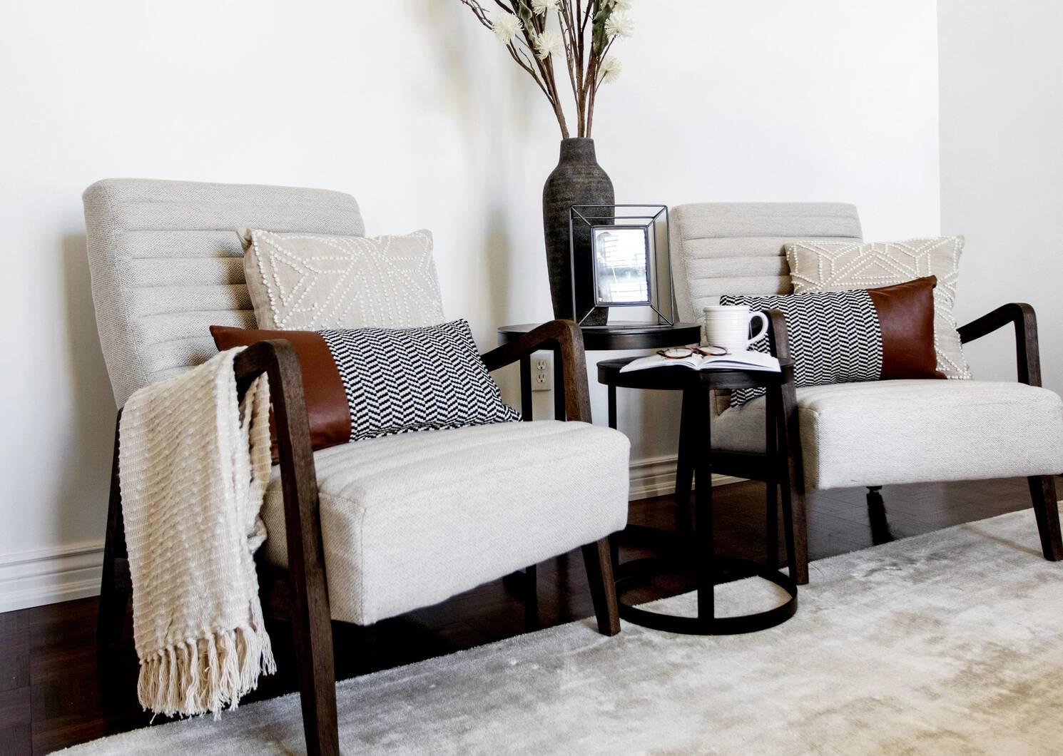 Irwin Nesting Side Table Set -Bronze