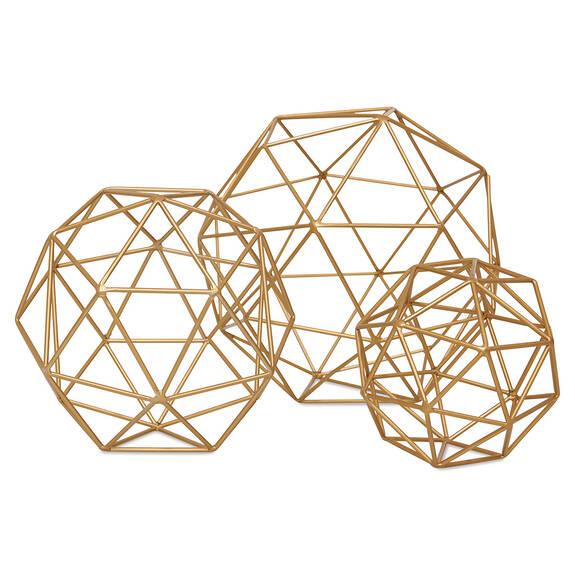 Boules décoratives Briella -laiton
