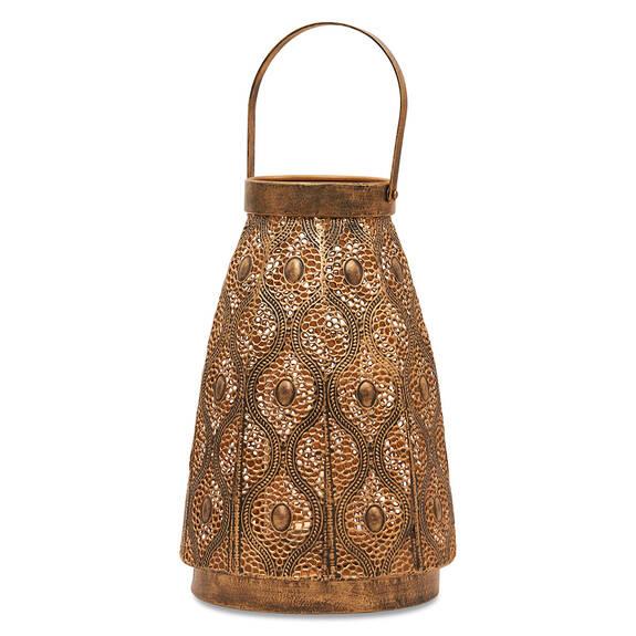 Ubari Lantern Antique Bronze