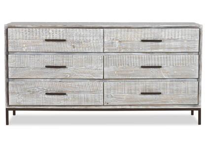 Bayshore 6 Drawer Dresser -Aliah Haze