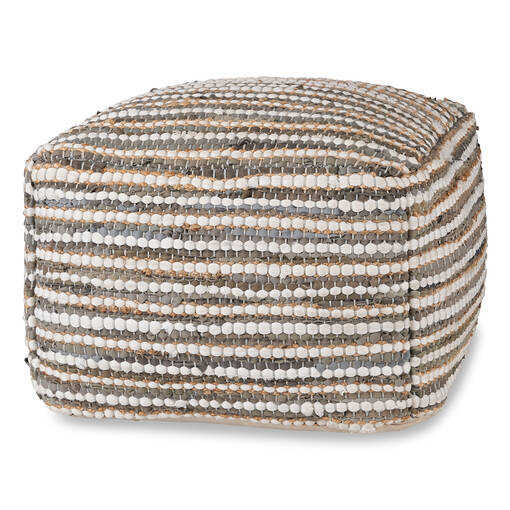 Rey Pouf Dusty Grey