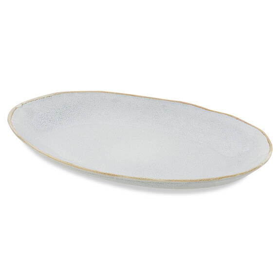 Crofton Serving Platter Light Grey
