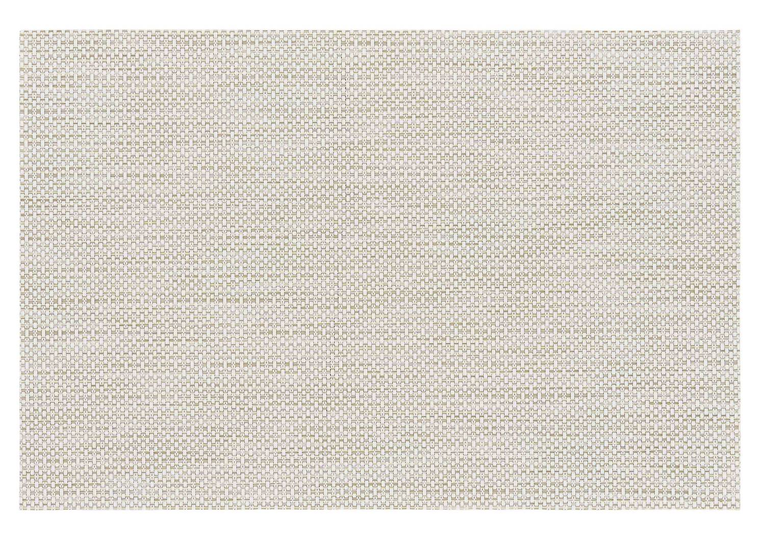 Glimmer Placemat Ivory/Gold