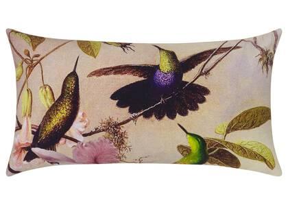 Hummingbird Charm Toss 12x22 Multi