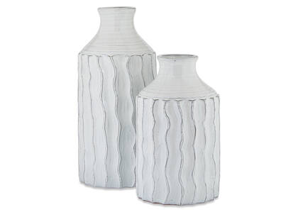 Theros Vases White/Black