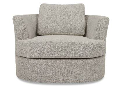Beverly Swivel Chair -Amalie Pepper