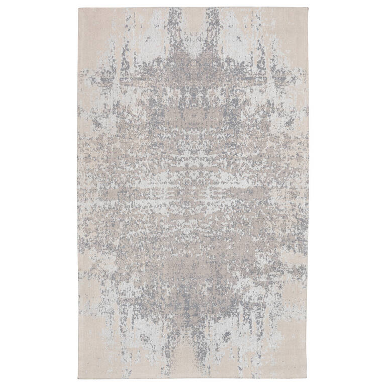 Vares Rug 96x135 Silver/Sand