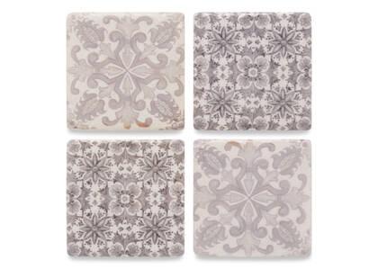 Provence Coaster Set Grey
