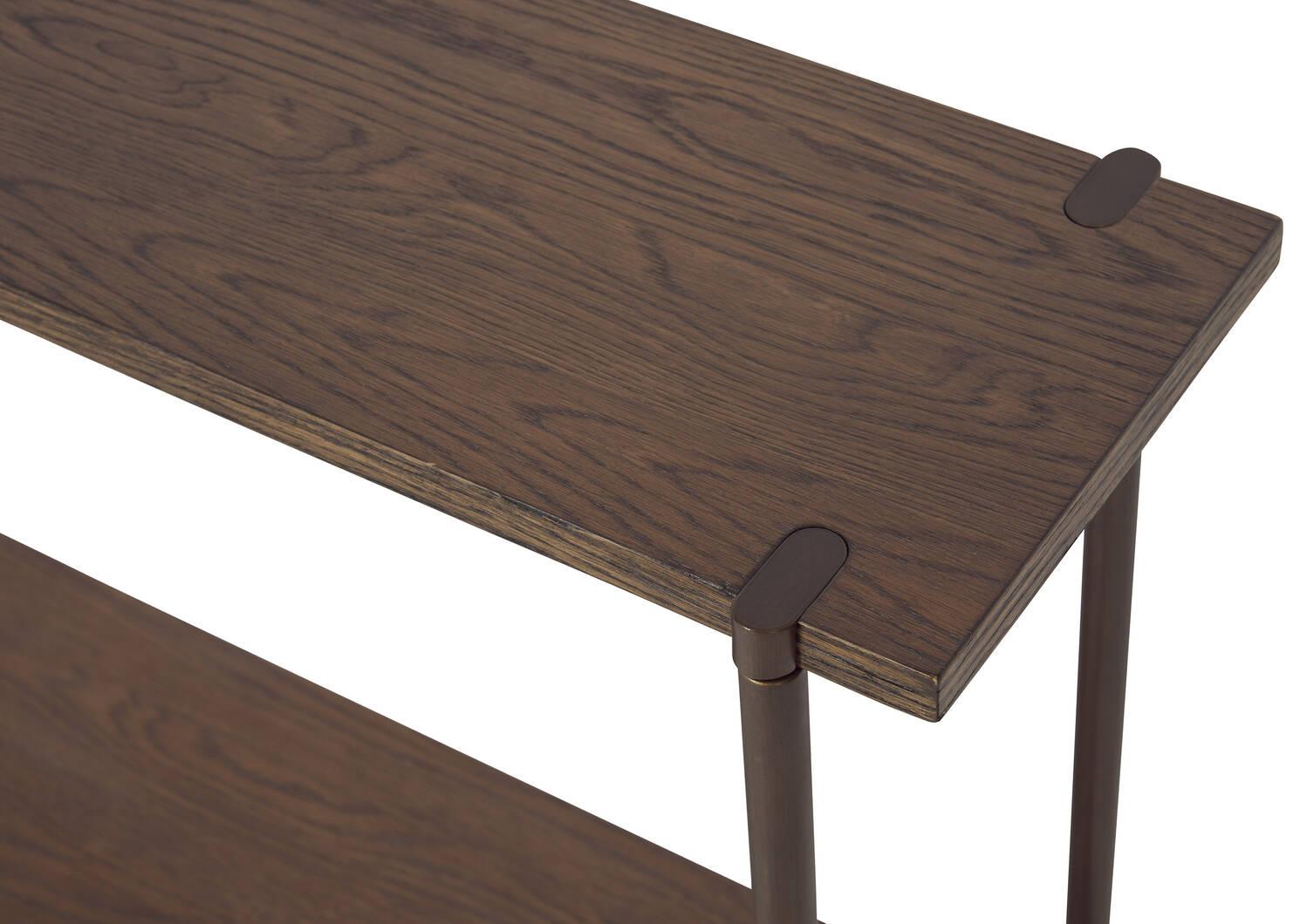 Berkeley Console Table -Novad Pecan