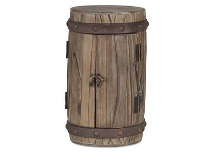 Boîte de rangement baril Wylie