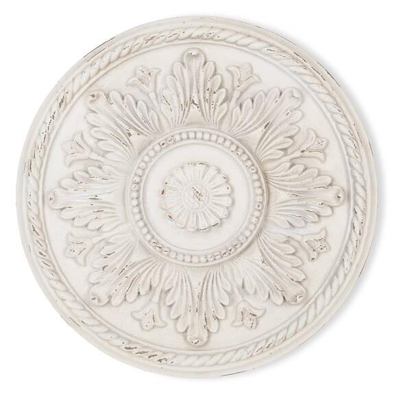 Nala Medallion Large White