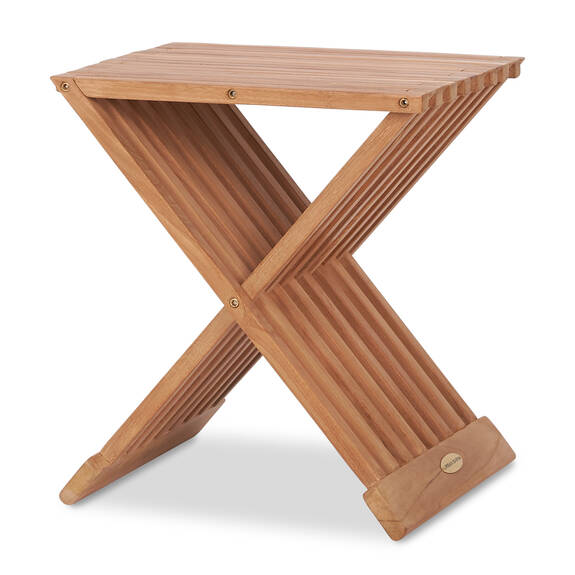 Galiano Side Table -Teak Natural