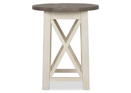 Sechelt Round Side Table -Cove Drift