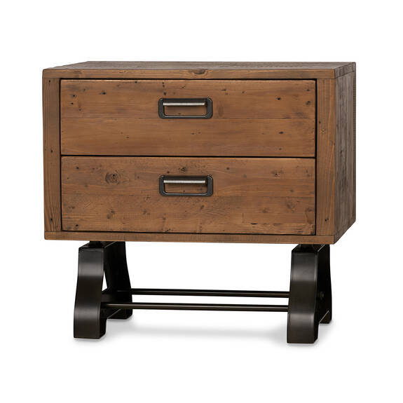 Stapleton Nightstand -Whiskey Brown