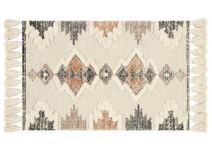 Magda Accent Rugs Ivory/Caramel