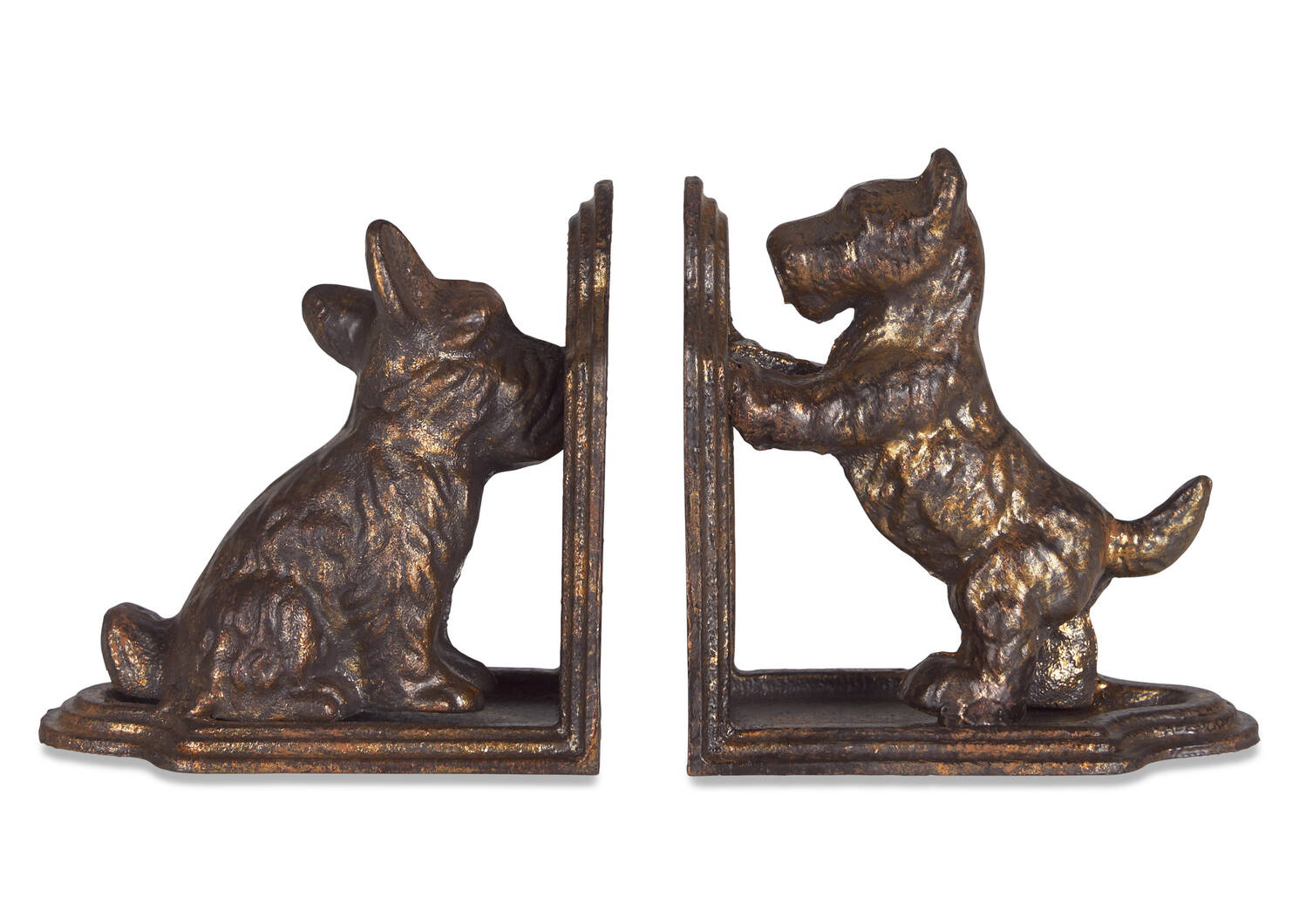 Scottie Bookend Set