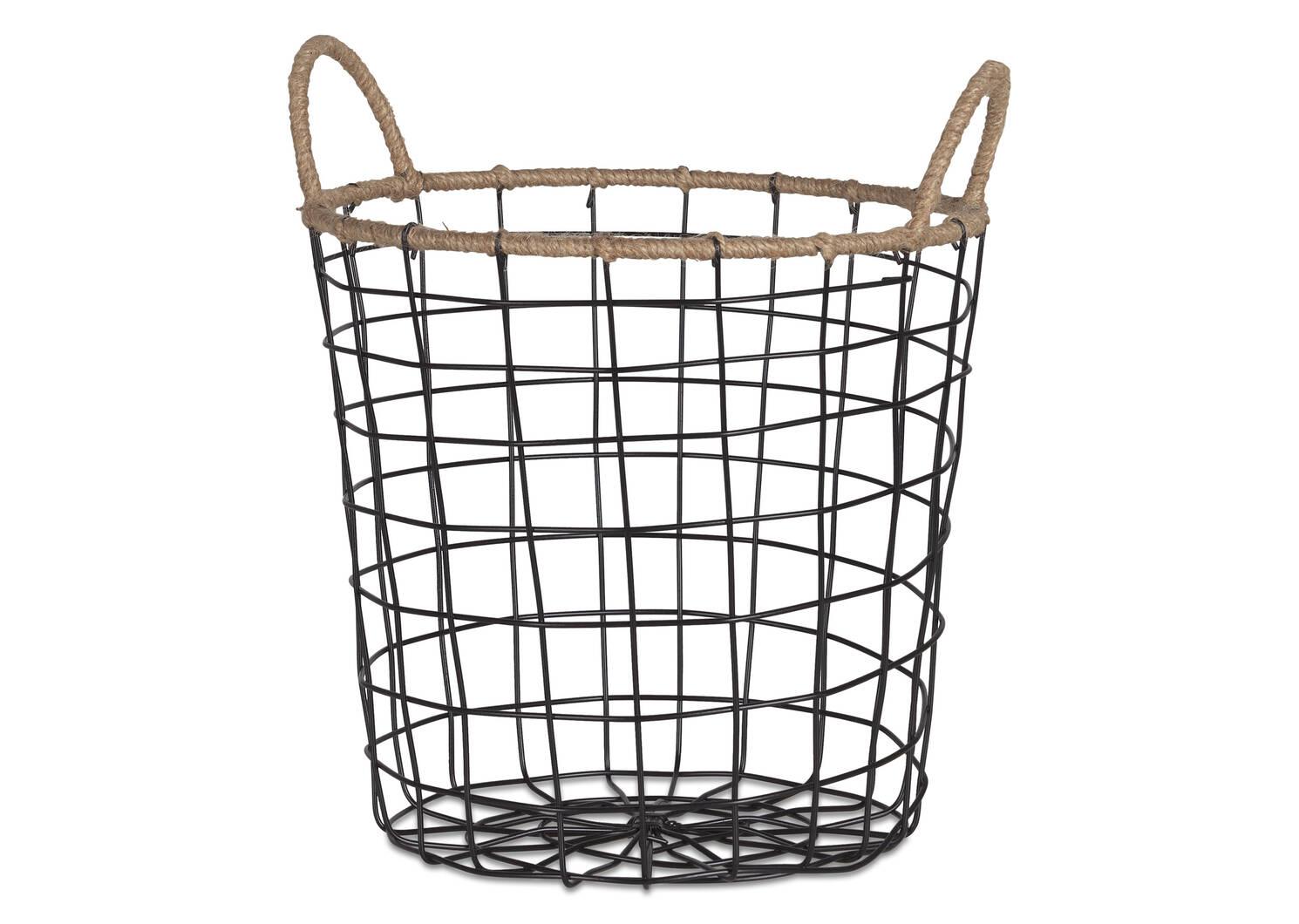 Jackman Wire Basket Natural/Black