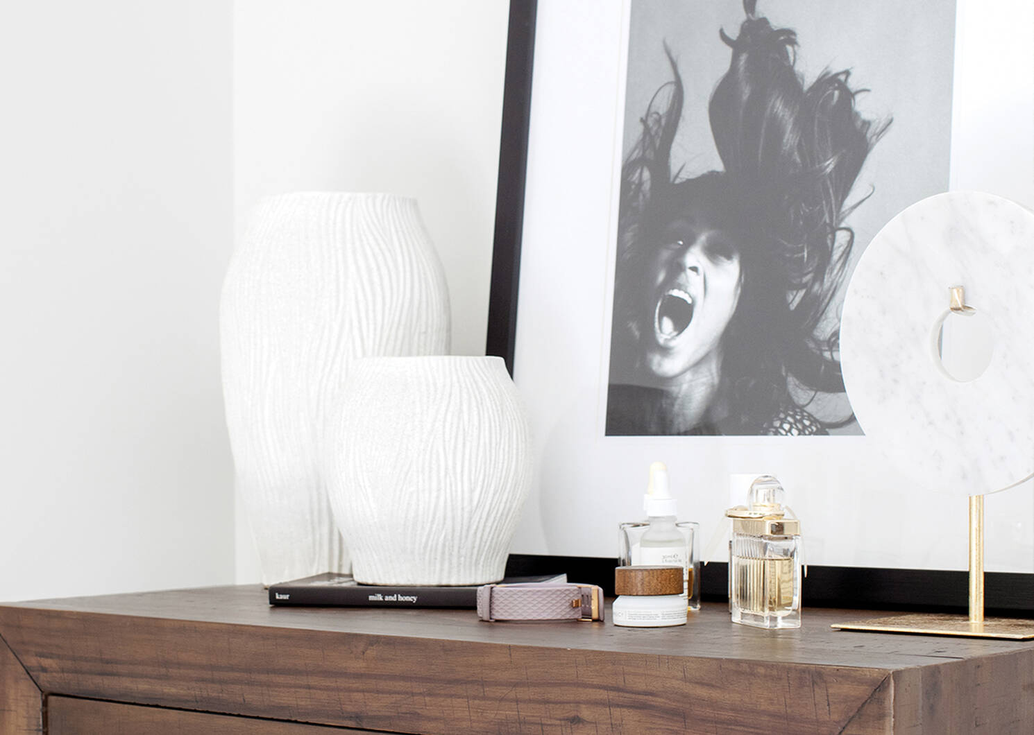 Vases Gianna -blancs