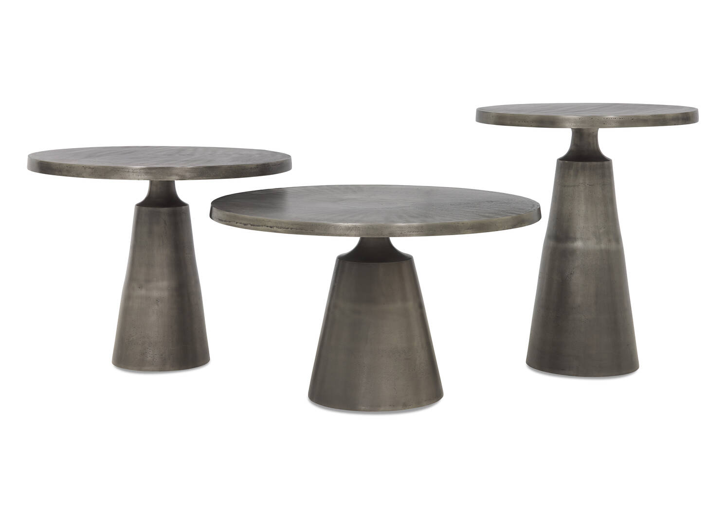 "Gershwin Side Table 24"" -Graphite"