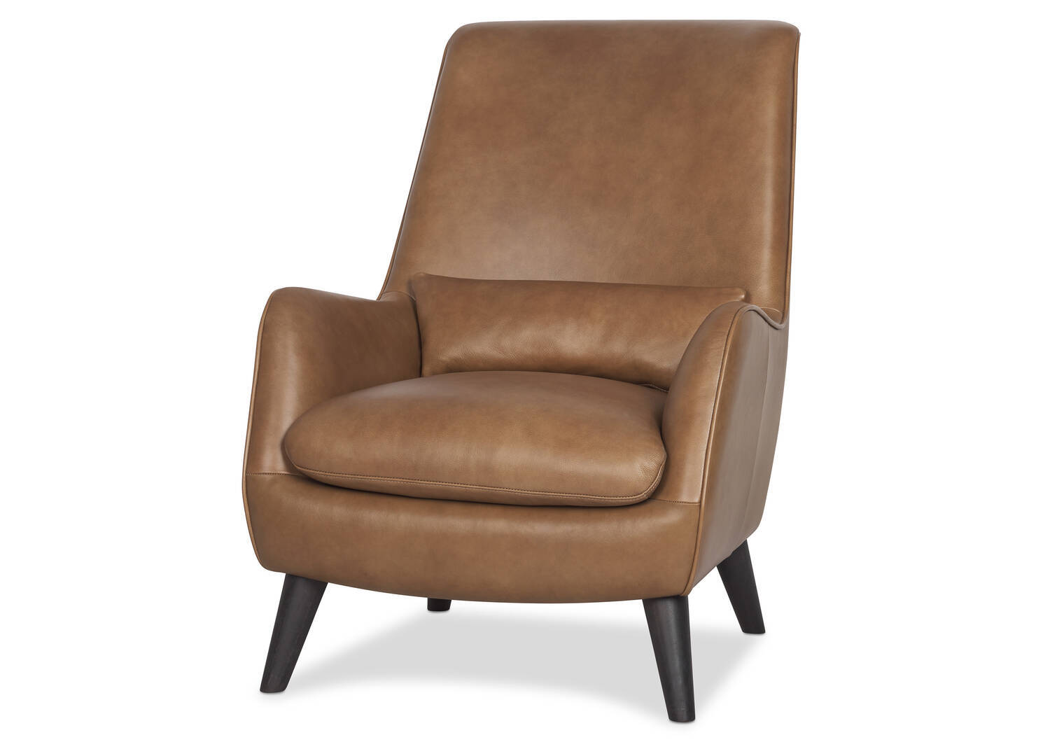 Largo Leather Armchair -Mira Rum
