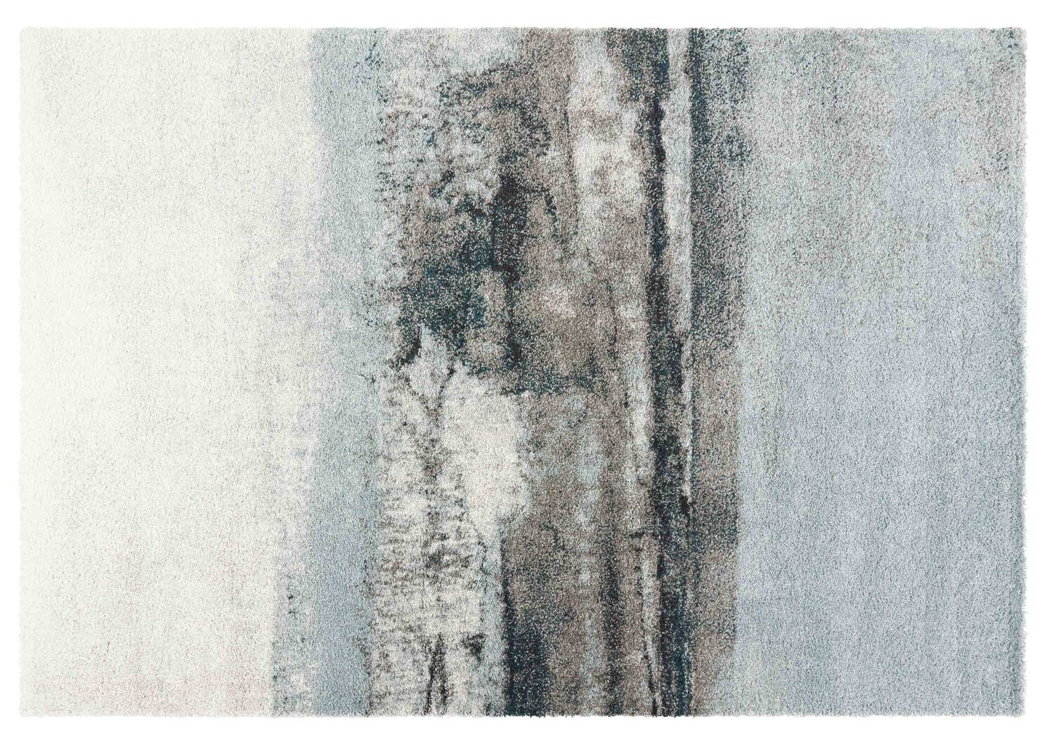 Arno Rugs Blue/Ivory/Grey