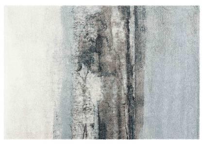 Tapis Arno bleus/ivoire/gris