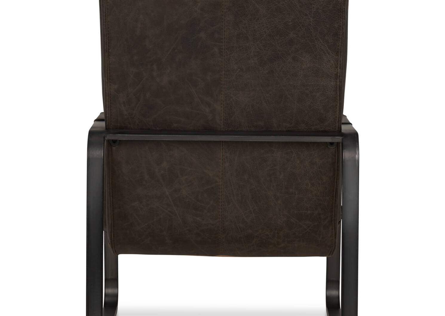 Donnelly Leather Armchair -Hurst Cocoa