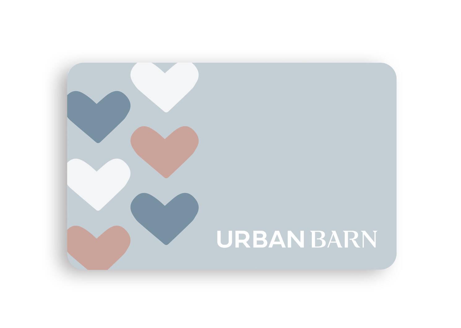 Carte-cadeau électronique Urban Barn