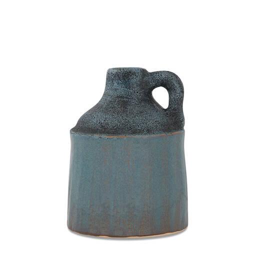 Clayton Jug Vase Small Storm/Halo