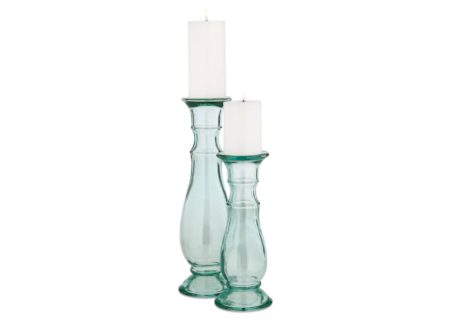 Mylah Candle Holders Clear