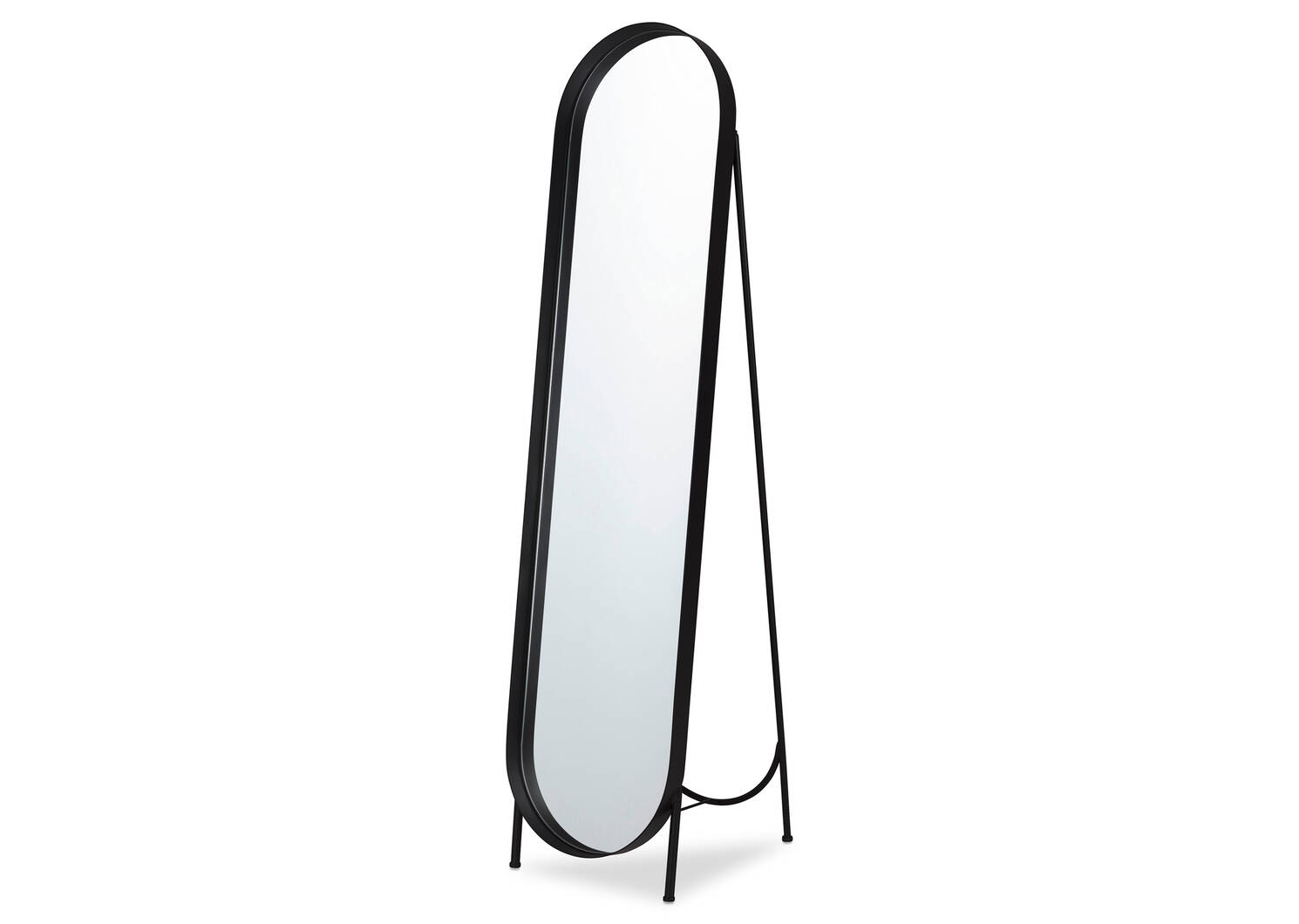 Britton Floor Mirror Black