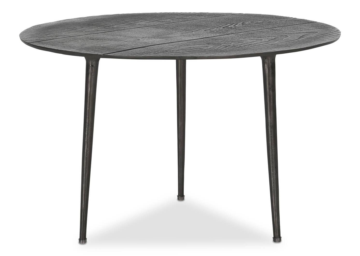 """Whitman Accent Table 24"""" -Noir"""