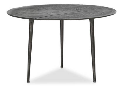 "Whitman Accent Table 24"" -Noir"