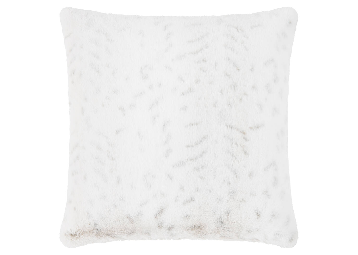 Alpine Faux Fur Toss 20x20 Snow Leopa