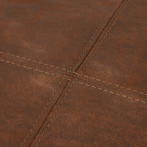Repose-pieds Tarek -Pierre brun clair